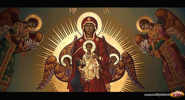 Денес е Успение на Пресвета Богородица