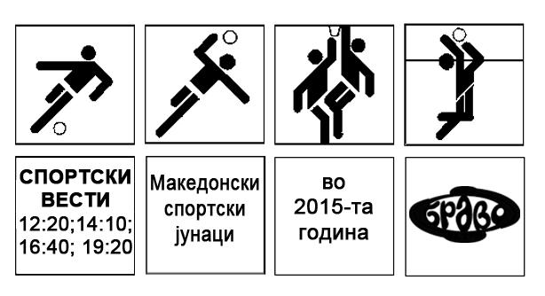 Македонскиот спорт во 2015-та