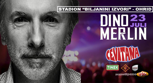 Радио Браво секојдневно доделува по две влезници за концертот на Дино Мерлин