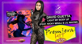 Premiera Hit David Guetta Feat. Nicki Minaj & Lil Wayne - Light My Body Up
