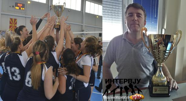 ОК СВСК Куманово е освојувач на македонскиот куп, Денис Вујадиновиќ во Радио Браво