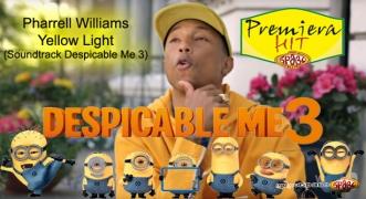 Premiera Hit Pharrell Williams - Yellow Light (Soundtrack Despicable Me 3)