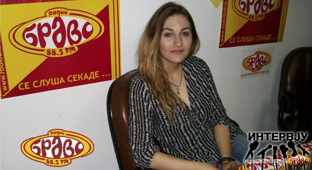 Сања Русеска, најдобар млад актер во Македонија
