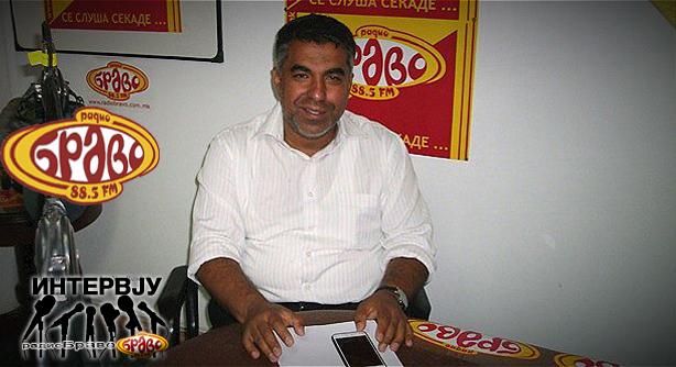 Ашмет Елезовски од Националниот Ромски Центар