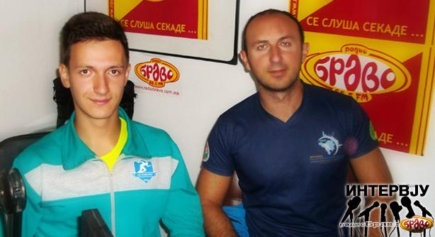 Милан и Филип од Атлетски Клуб Куманово