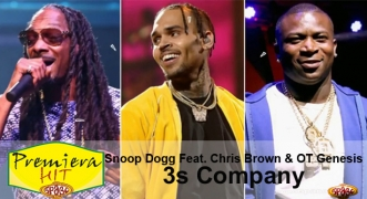 Premiera Hit Snoop Dogg Feat. Chris Brown & OT Genesis - 3s Company