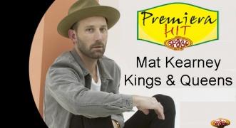 Premiera Hit Mat Kearney - Kings & Queens