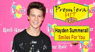 Premiera Hit Hayden Summerall - Smiles For You