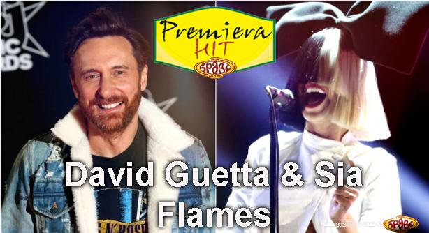 Premiera Hit David Guetta & Sia - Flames