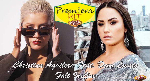Christina Aguilera Feat. Demi Lovato – Fall In Line (Премиера Хит)