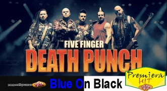 Premiera Hit Five Finger Death Punch - Blue On Black