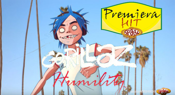 Premiera Hit Gorillaz - Humility