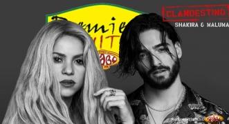 Premiera Hit Shakira Maluma Clandestino -