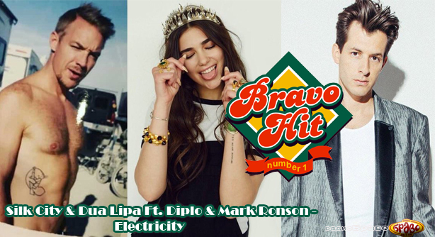 Bravo Hit Silk City & Dua Lipa Ft. Diplo & Mark Ronson - Electricity