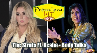 Premiera Hit The Struts Ft. Kesha - Body Talks