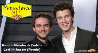 Premiera Hit Cetvrtok 04.10.2018 Shawn Mendes & Zedd - Lost In Japan (Remix)