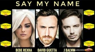 Premiera Hit David Guetta Feat. Bebe Rexha & J Balvin – Say My Name