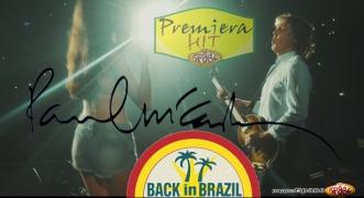 Premiera Hit Paul McCartney - Back In Brazil