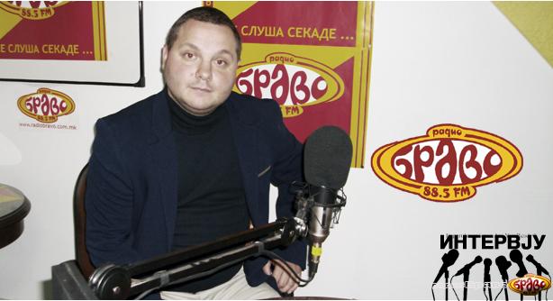 "Александар Јовановиќ, директор на ООУ ""Крсте Мисирков"""
