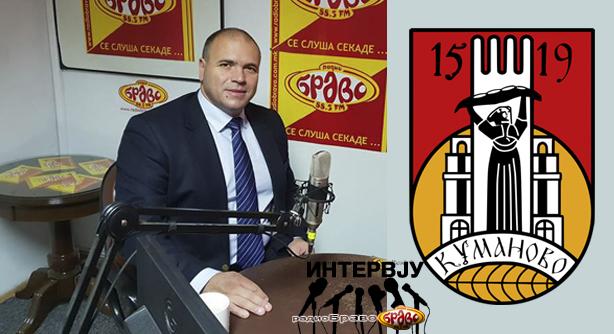 Максим Димитриевски, градоначалник на општина Куманово