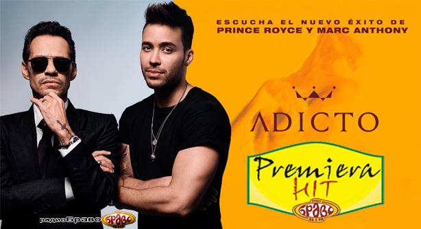 Premiera Hit Sreda 12.12.18 Prince Royce Marc Anthony - Adicto