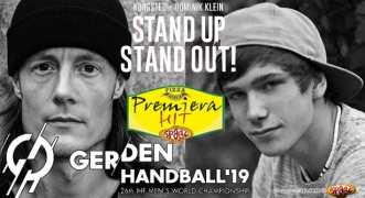 Premiera Hit Cetvrtok 10.01.18 Kongsted & Dominik Klein - Stand Up Stand Out (The Official 2019 Handball World Cup Song)