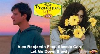 Premiera Hit Vtornik 15.02.19 Alec Benjamin Feat. Alessia Cara - Let Me Down Slowly