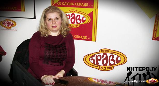 """Жаклина Стефановска, координатор на изложбата """"Жените и фотографијата"""""""
