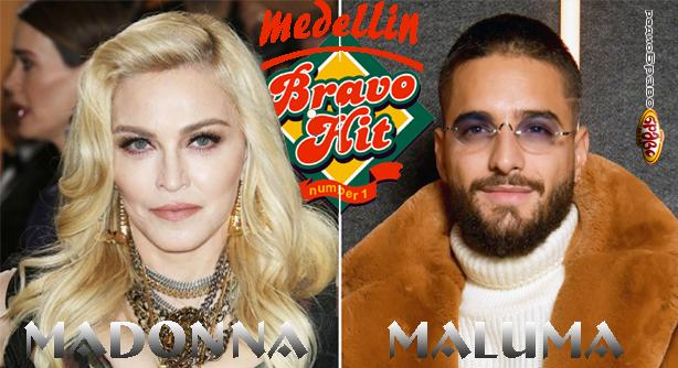 Madonna Feat. Maluma – Medellin (Браво Хит)