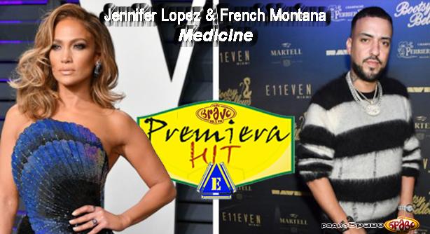 Premiera Hit Ponedelnik 08.04.19 Jennifer Lopez Feat. French Montana - Medicine