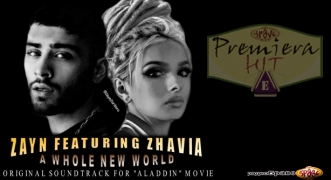 Premiera Hit Petok 17.05.19 Zayn Feat. Zhavia - A Whole New World (From Aladdin)