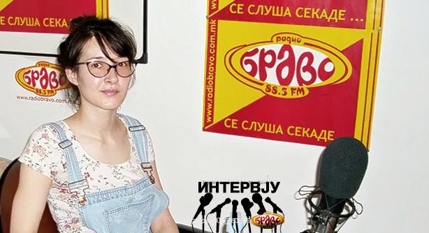 Симона Димковска, најдобар млад актер