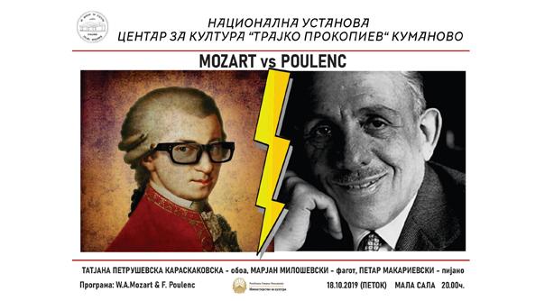 Mozart Vs. Poulenc – 18.10.2019 – 20:00 h