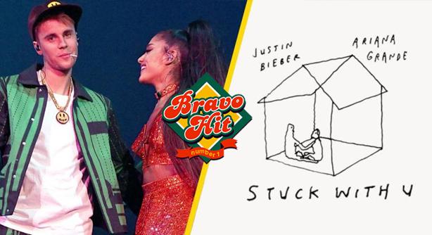 Ariana Grande Feat. Justin Bieber – Stuck With U (Браво Хит)