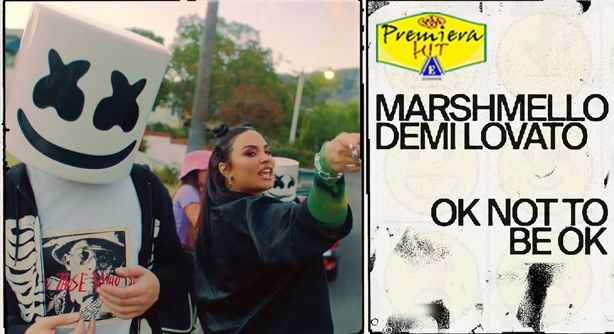 Premiera Hit Sreda16 09 2020 - Marshmello Feat Demi Lovato – OK Not To Be OK