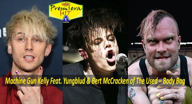 Premiera Hit Cetvrtok 08 10 2020 - Machine Gun Kelly Feat Yungblud and Bert McCracken of The Used – Body Bag