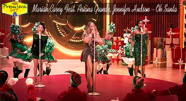 Premiera Hit Vikend 12 12 2020 - Mariah Carey Feat Ariana Grande Jennifer Hudson – Oh Santa