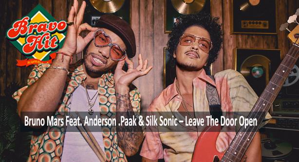 Bruno Mars Feat. Anderson .Paak & Silk Sonic – Leave The Door Open  (Браво Хит)
